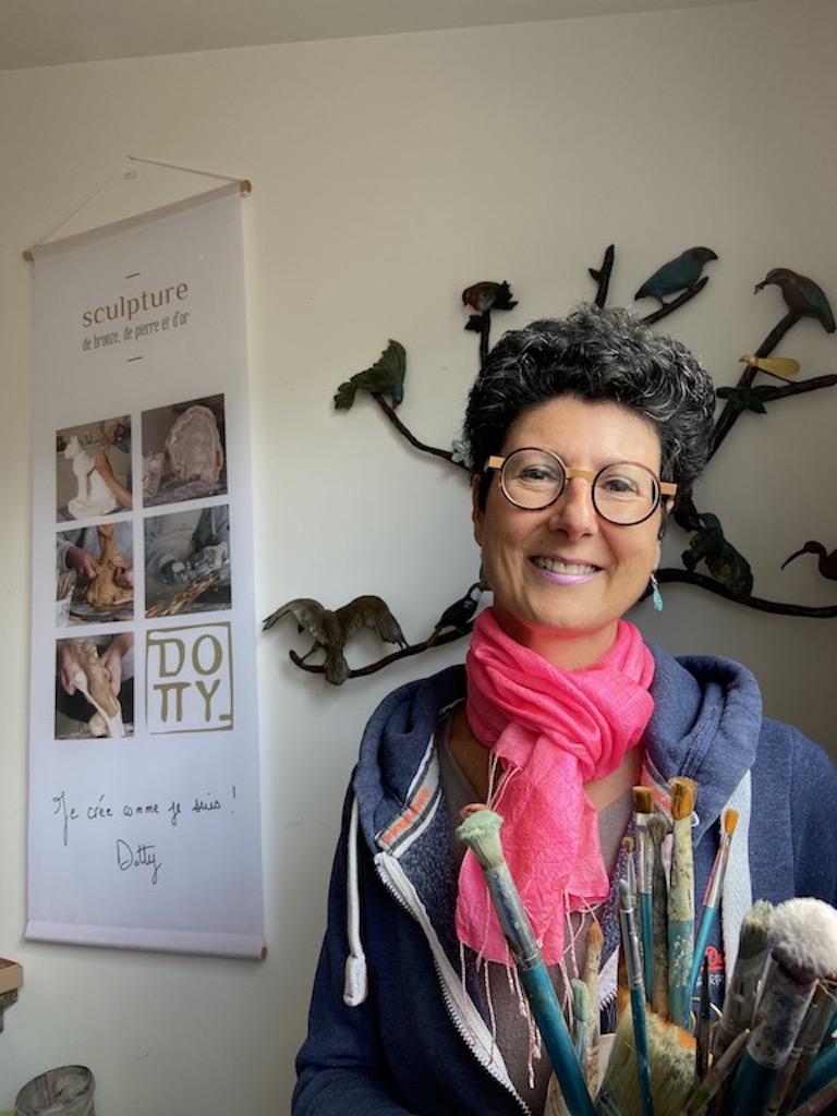 sculpteur-bronze-bordeaux-dorothee-barbou-sculptor-French-artist-emotions-energy-birds